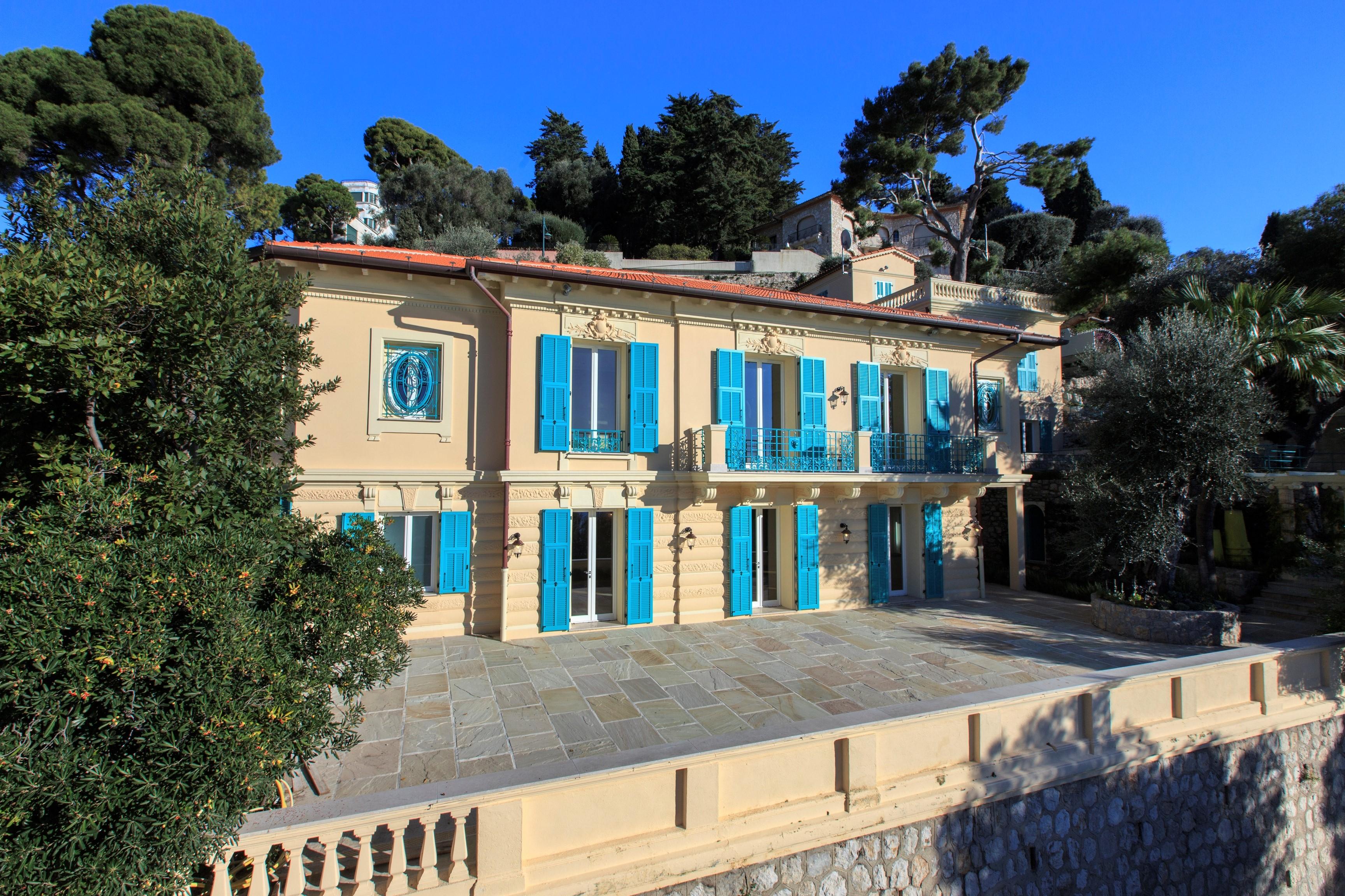 Avenue De Grasseuil, Saint-Jean-Cap-Ferrat, Provence-Alpes-Côte D'azur, France
